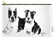 Boston Terriers Carry-all Pouch