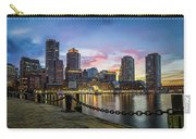 Boston,ma Sunset Carry-all Pouch