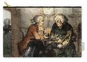 Boswell And Johnson, 1786 Carry-all Pouch