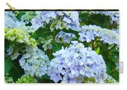 Botanical Art Prints Floral Hydrangea Flower Garden Baslee Carry-all Pouch