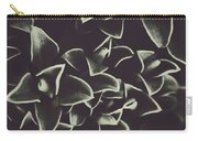 Botanical Blooms In Darkness Carry-all Pouch
