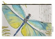 Botanical Dragonfly-jp3423b Carry-all Pouch