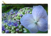 Botanical Garden Blue Hydrangea Flowers Baslee Troutman Carry-all Pouch