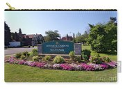 Botanical Gardens Floral Landscaped Entrance  Carry-all Pouch