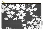 Botanicals Grey Carry-all Pouch