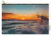 Botany Sunset Splash Carry-all Pouch
