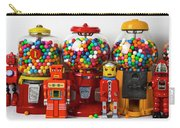 Bots And Bubblegum Machines Carry-all Pouch