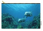 Bottlenose Dolphins And Coral Reef Carry-all Pouch