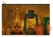 Bottles And Lamps Carry-all Pouch by Evelina Kremsdorf