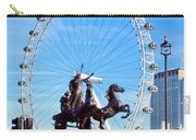 Boudica Riding The Millennium Wheel Carry-all Pouch
