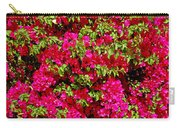 Bougainvillea And Foliage Carry-all Pouch
