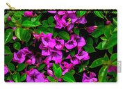 Bougainvillea Floral Print Carry-all Pouch