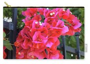 Bougainvillea On Southern Fence Carry-all Pouch