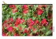 Bougainvillea Repeating Pattern Abstract I Carry-all Pouch