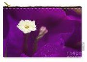 Bougainvillea Spectabilis Macro Carry-all Pouch