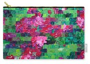 Bouganvillea - Tiled Carry-all Pouch