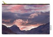 Boulder County Colorado Indian Peaks At Sunset Carry-all Pouch by James BO  Insogna