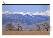 Boulder County Colorado Panorama Carry-all Pouch