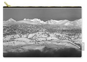 Boulder County Continental Divide Panorama Bw Carry-all Pouch