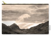 Boulder County Indian Peaks Sepia Image Carry-all Pouch by James BO  Insogna