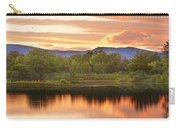 Boulder County Lake Sunset Landscape 06.26.2010 Carry-all Pouch