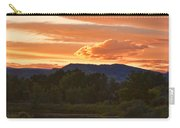 Boulder County Lake Sunset Vertical Image 06.26.2010 Carry-all Pouch by James BO  Insogna