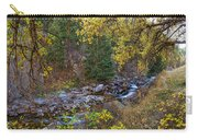 Boulder Creek Autumn View  Carry-all Pouch