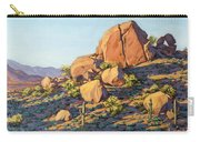 Boulders By Pinnacle Peak Mountain Carry-all Pouch