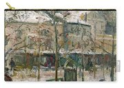 Boulevard De Rocheouart In Snow Carry-all Pouch
