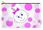 Bouncing Baby Girl Carry-all Pouch