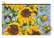 Bouquet Del Sol Sunflowers Carry-all Pouch