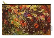 Bouquet In Front Of A Mirror 1877 Carry-all Pouch