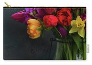 Spring Flowers In Vase Carry-all Pouch