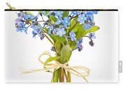 Bouquet Of Forget-me-nots Carry-all Pouch