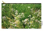 Bouquet Of Wildflowers Along Country Road In Mchenry County Carry-all Pouch