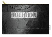 Bourbon In Black And White Carry-all Pouch