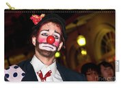 Bourbon Street Clown Mime Carry-all Pouch