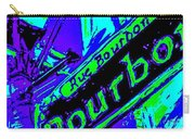 Bourbon Street In Blue Carry-all Pouch