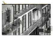 Bourbon Street Morning-bw-nola Carry-all Pouch