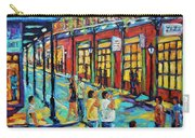 Bourbon Street New Orleans By Prankearts Carry-all Pouch