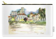 Bourdeilles, On The River Dronne,  Dordogne Carry-all Pouch