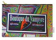 Boutique Du Vampyre -  New Orleans Carry-all Pouch