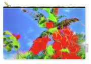 Bougainvillea Glow Carry-all Pouch