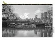 bow bridge central park N Y C Carry-all Pouch