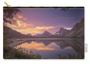 Bow Lake At Dawn Carry-all Pouch