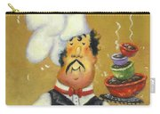 Bow Tie Chef Four Bowl Carry-all Pouch