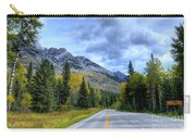 Bow Valley Parkway Banff National Park Alberta Canada Vi Carry-all Pouch
