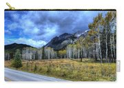 Bow Valley Parkway Banff National Park Alberta Canada Carry-all Pouch