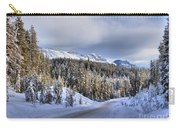 Bow Valley Parkway Winter Scenic Carry-all Pouch