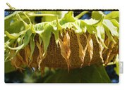 Bowing Sunflower Carry-all Pouch